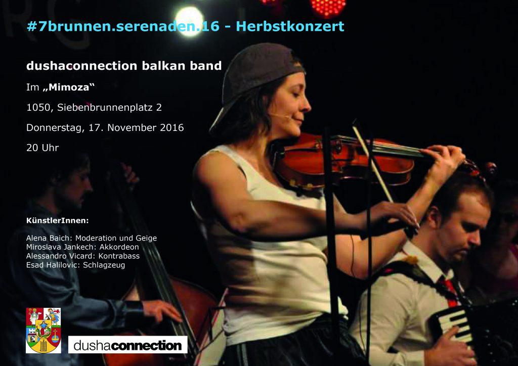 Plakat Konzert 17.11.2016